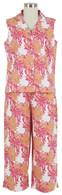 Mumsy sleeveless/capri pajama
