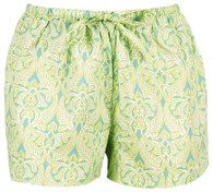 Clare Lime boxer shorts - FINAL SALE