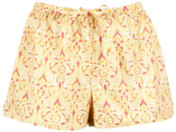 Clare Orange boxer shorts
