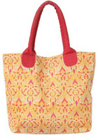 Clare Orange market tote