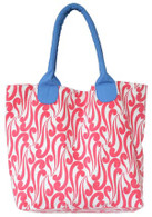 Isabella Red market tote