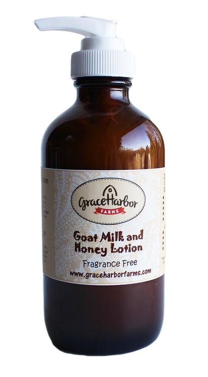 Goat milk and honey lotion 8 oz