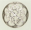 6406-10 Cathedral Plaid Brooch