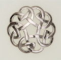 6412-10 Eternal Interlace Brooch