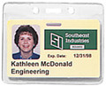 1815-1000 - Badge Holder CC/DATA Horizontal 100 Per Pack