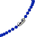 2130-4002 - Plastic Chain Bead Size 4 mm Royal Blue 500 Per Pack