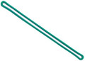 "2410-2004 - Luggage Loop Plastic 6"" Green 100 Per Pack"