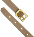 2420-1007 - Luggage Strap Leather Tan 25 Per Pack