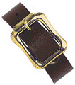 2440-2003 - Luggage Strap Vinyl Brown 25 Per Pack