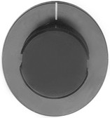 "BLACK INDICATOR KNOB 2"" DIA  - LINCOLN OVEN"