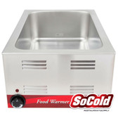 "12"" x 20"" Electric Countertop Food Warmer - 120V, 1200W"