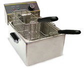 Fryer, Electric, 110v, Counter top, 2 Basket