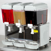 Triple 3 Gallon Bowl Refrigerated Beverage Dispens