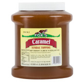 Caramel Ice Cream Topping - 6 - 1/2 Gallon Containers / Case