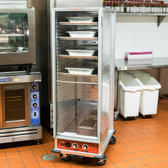 Full Size Non-Insulated Heated Holding / Proofing Cabinet with Clear Door - 120V