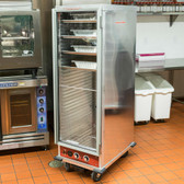 Full Size Insulated Heated Holding / Proofing Cabinet with Clear Door - 120V