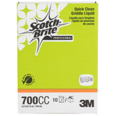 3M 700CC Scotch-Brite 3.2 oz. Liquid Griddle Quick Clean Packet