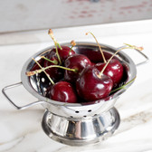 "American Metalcraft MCSS42 4"" Mini Stainless Steel Colander Bowl"