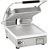 "Star PST14 Pro-Max® 2.0 Single 14"" Panini Grill with Smooth Aluminum Plates - No Timer"