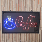 LED Coffee Sign
