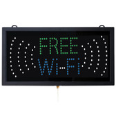 Free Wi-Fi LED Sign