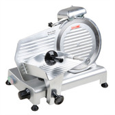 "10"" Manual Gravity Feed Meat Slicer - 1/4 hp"