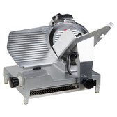 "12"" Manual Gravity Feed Meat Slicer - 1/2 hp"