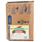 Fox's Bag in Box Birch Beer Beverage / Soda Syrup - 5 Gallon