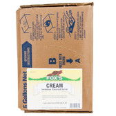 Fox's Bag in Box Cream Soda Beverage / Soda Syrup - 5 Gallon