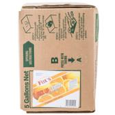 Fox's Bag In Box Fizz Up Beverage / Soda Syrup - 5 Gallon