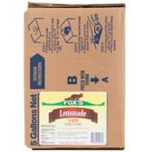 Fox's Bag In Box Lemonade Syrup - 5 Gallon
