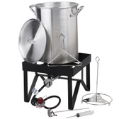 Backyard Pro 30 Qt. Turkey Fryer Kit - 55,000 BTU