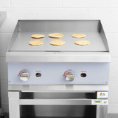 "24"" Gas Countertop Griddle with Manual Controls - 60,000 BTU"