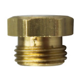 BRASS BURNER NAT ORIFICE # 40