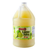 Castella 100% Lime Juice 1 Gallon Bottle