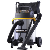 Workshop WS1600SS 16 Gallon Stainless Steel Wet / Dry Vacuum
