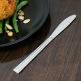 Dominion Flatware Stainless Steel Dinner Knife - 12/Pack