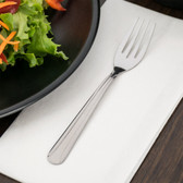 Dominion Flatware Stainless Steel Salad Fork - 12/Pack