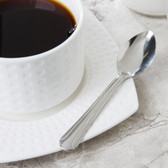 Dominion Flatware Stainless Steel Demitasse Spoon - 12/Pack