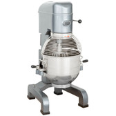 MX30 30 Qt. Gear Driven Commercial Planetary Floor Mixer with Stainless Steel Bowl Guard