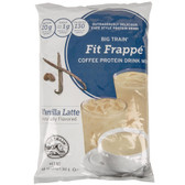 Big Train Fit Frappe Vanilla Latte Protein Drink Mix - 3 lb.