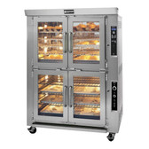 Doyon JAOP10G Natural Gas Double Deck Jet Air Oven Proofer Combo - 208V, 85,000 BTU