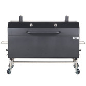 "Backyard Pro 60"" Charcoal / Wood Smoker"