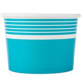 Choice 12 oz. Blue Paper Frozen Yogurt Cup - 1000/Case