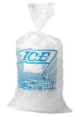 Ice Bags , 10lb With Blue Ice Logo 1000pcs