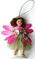 Porcelain Flower Fairy Doll - Pink/Green