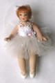 Porcelain Petite Ballerina - White