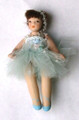 Porcelain Petite Ballerina - Aqua