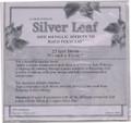 Silver Leaf Sheets
