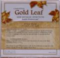 Gold Leaf Sheets